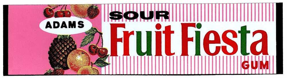 adams sour fruit fiesta gum Canada