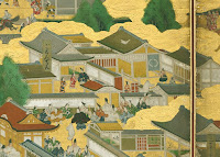 Screen Painting of Kyoto Shinjo Castle