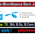 Telenore Microfinance Bank Jobs 2019 For Graduation Degree Holders