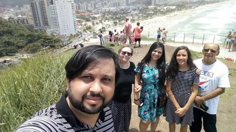 Momentos com a família em Guarujá-SP