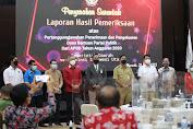 Wagub Sulut Hadiri Penyerahan LHP Bantuan Keuangan Parpol TA. 2020