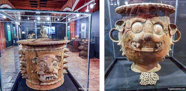 Museu pré-colombiano do Colégio dos Jesuítas de Antigua Guatemala