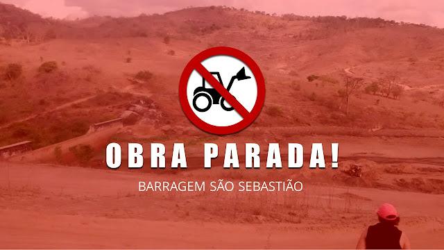 Limpeza da barragem que abastece a cidade de Panelas-PE parou