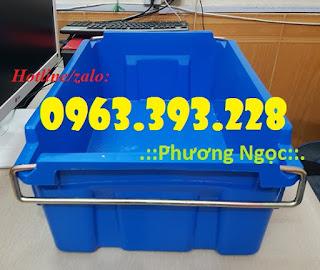 Thùng nhựa có quai xách, hộp nhựa đựng hải sản 10c252c75713b54dec02