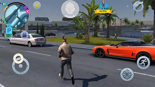تحميل لعبة Gangstar New Orleans مهكرة للاندرويد