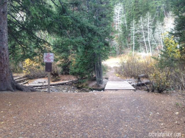 Hiking to Donut Falls, Big Cottonwood Canyon, Hiking in Utah with Kids, Hiking Utah