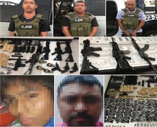 Caen 5 integrantes del CJNG en Cotaxtla y Coatzacoalcos