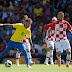Brasil tenta hoje, diante da Costa Rica, sua primeira vitória na Copa