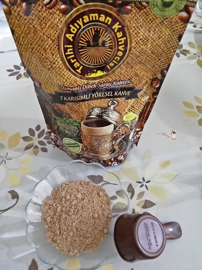 Tarihi Adıyaman Kahvecisi Osmanlı Dibek Kahvesi (7 Karışımlı Yöresel Kahve)