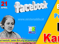Bingkai Profil FB Hari Kartini 21 April