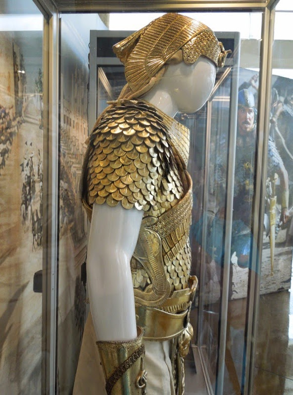 Ramesses II Exodus: Gods and Kings costume side detail