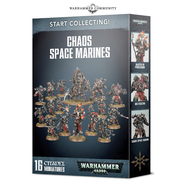 Start collecting Marines Espaciales del Caos