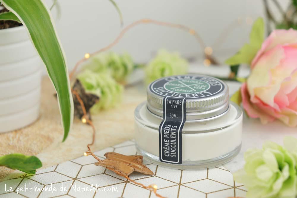 crème pids succulents bio Le Fare en Provence avis