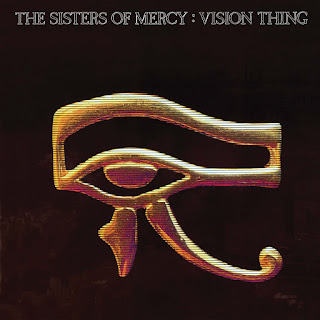 Eye of Horus in Gold on Black