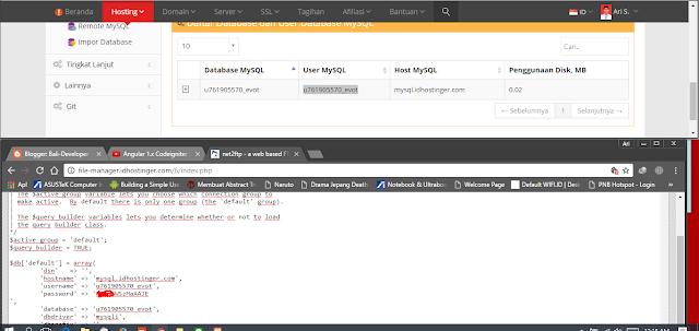 konfigurasi database