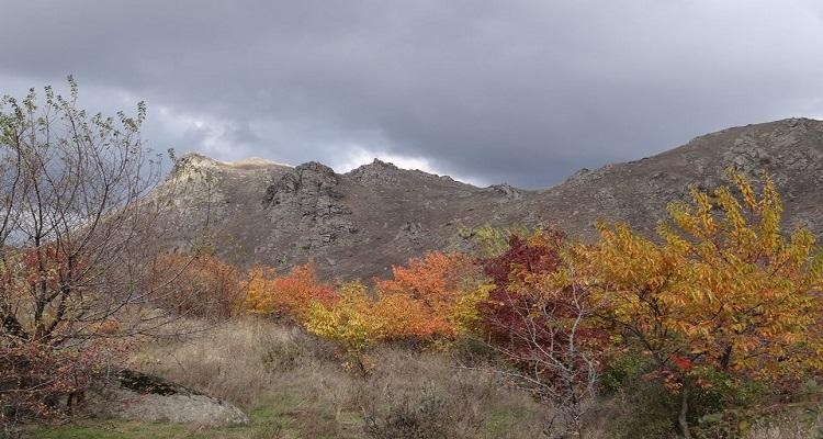 Parcul Național Munții Măcinului pe timp de toamnă