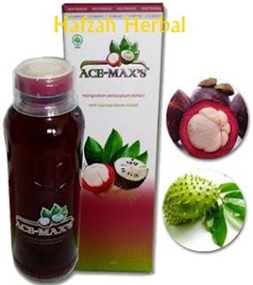 Ace maxs ekstrak kulit manggis dan sirsak di hafzah herbal