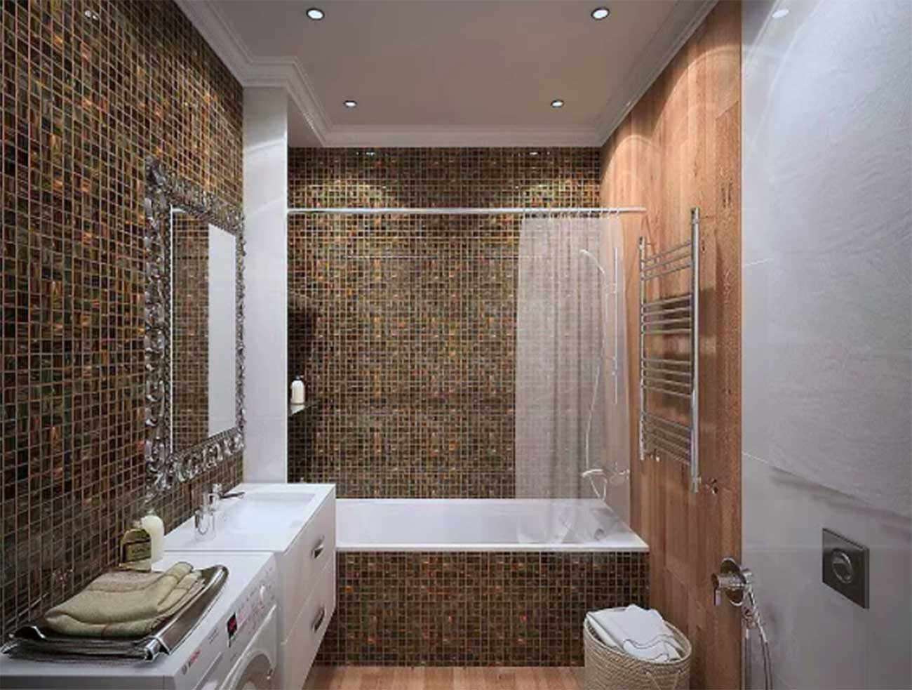 How to create the perfect bathroom in a small apartment ... on Small Apartment Bathroom  id=79292