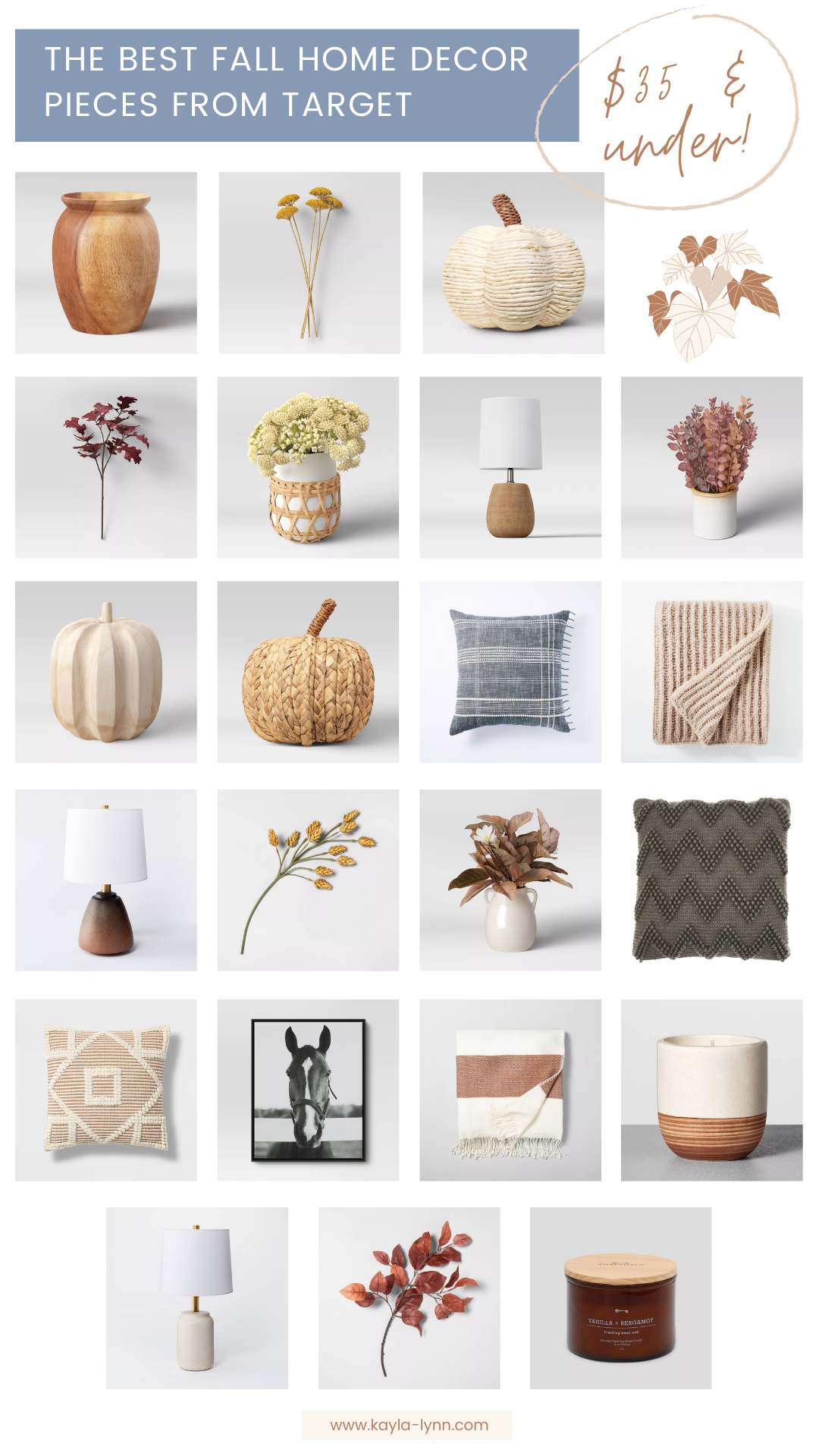 The Best Fall Home Decor Pieces From Target