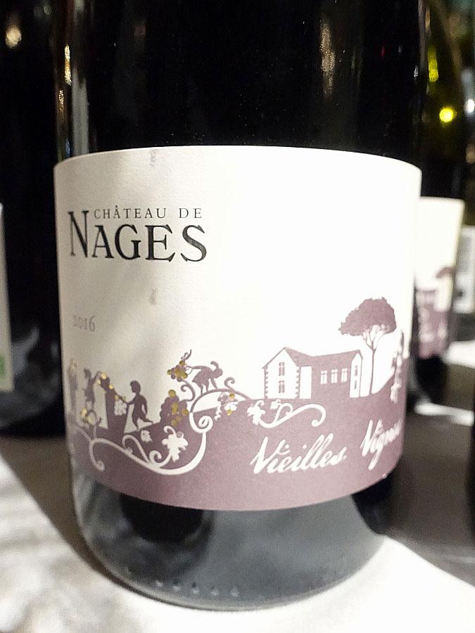 Château de Nages Vieilles Vignes Costières de Nîmes 2016 (90 pts)