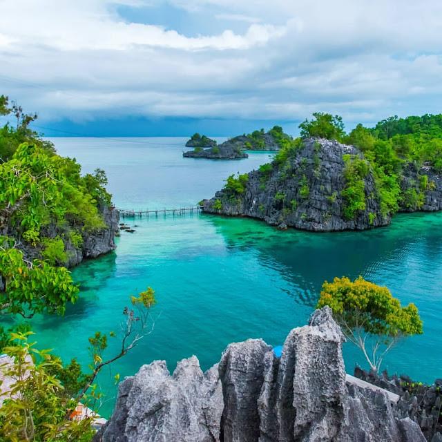 labengki island Indonesia