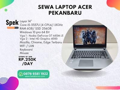 Sewa Laptop Untuk Pribadi di Pekanbaru