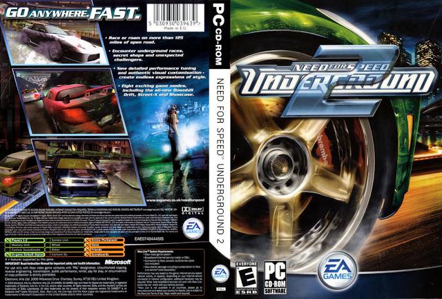 Need for Speed Underground 2: Jogos gratis pc fraco