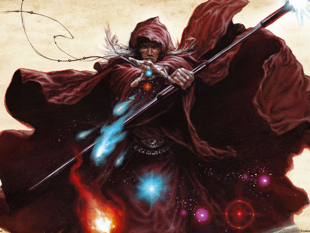 Eligiendo clase en Dungeons & Dragons - Magos