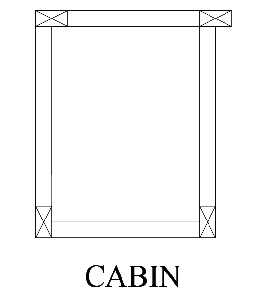 only cabin design