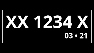 Kode Plat nomor belakang AD