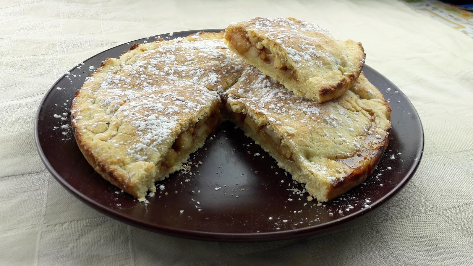 LA GAIA CUCINA DI PATTY...: Crostata con mele caramellate e cannella