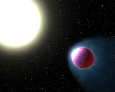 WASP 121b, el exoplaneta del infierno