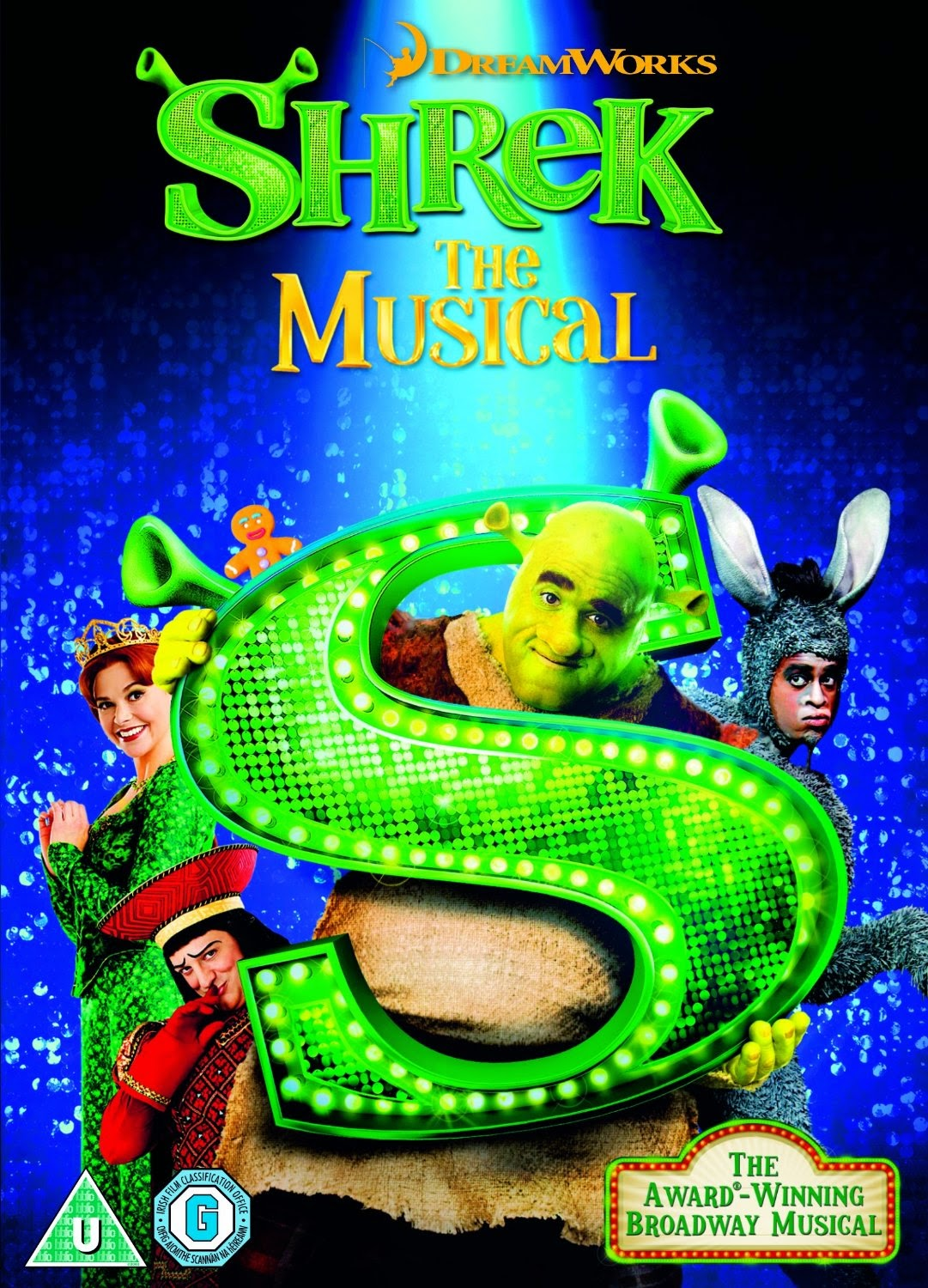 Shrek The Musical DVD Cover