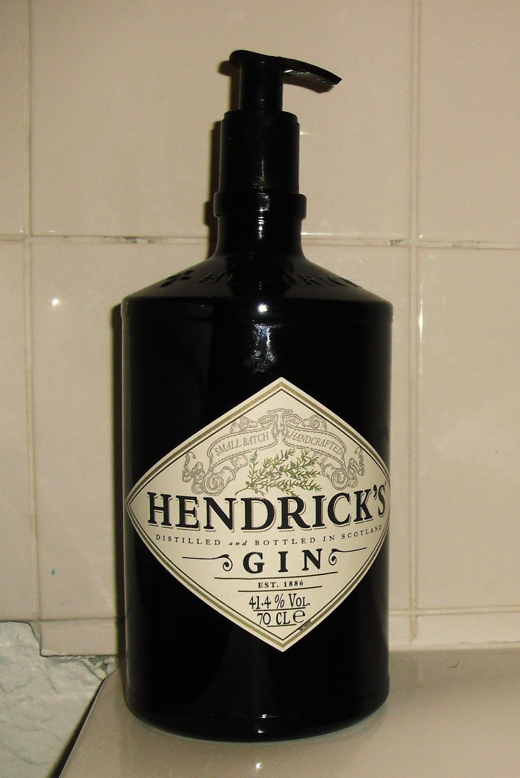 Faberdashery Hendricks Gin Soap Dispenser