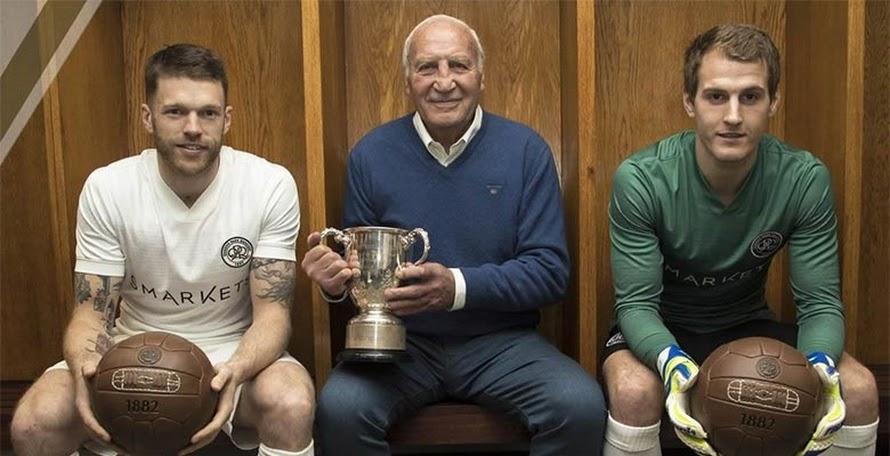 Stunning  QPR Launch Commemorative Jersey to Celebrate 1967 League Cup Win 3cccc329e4e21