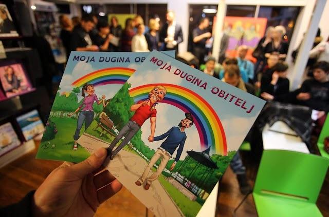 SLIKOVNICA KOJA RAZBIJA PREDRASUDE : SLIKOVNICA O LGBT PORODICAMA