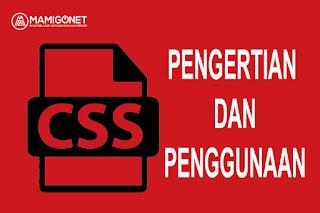 Pengertian dan Penggunaan CSS