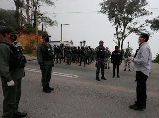Con 430 barreras de contención hacen cumplir la cuarentena en la Gran Caracas