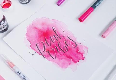Sztuka brush letteringu - Wioletta Guzy [Wywiad]