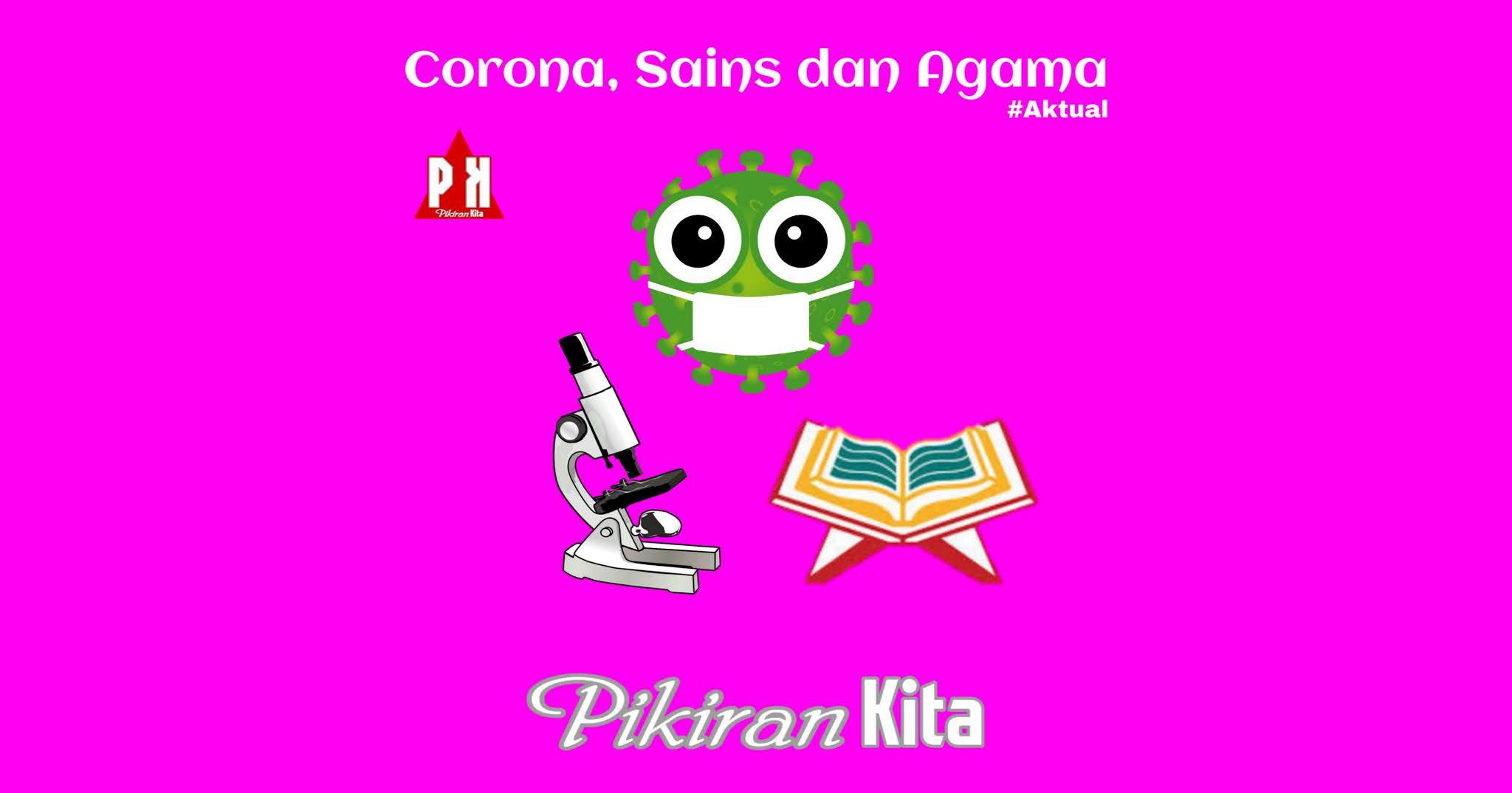 Corona, Sains, dan Agama
