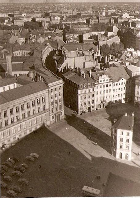 1959 год. Рига. Площадь 17 Июня