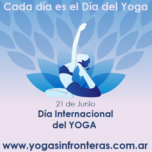 21 de Junio, Día Internacional del Yoga.
