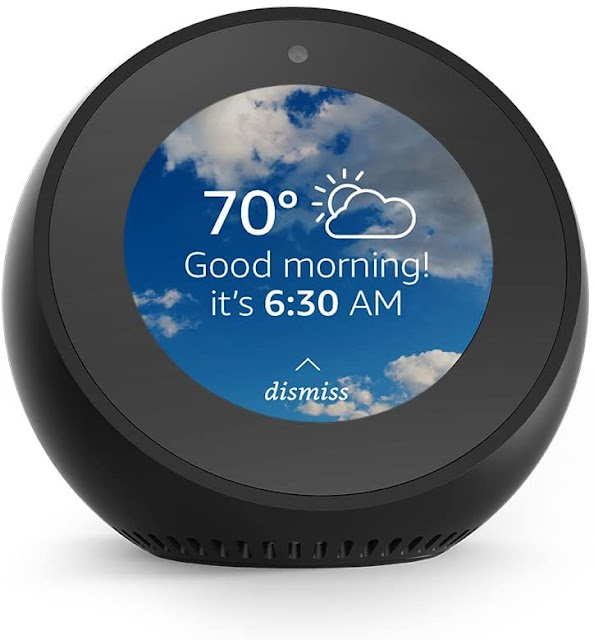 Echo Spot Smart Alarm Clock