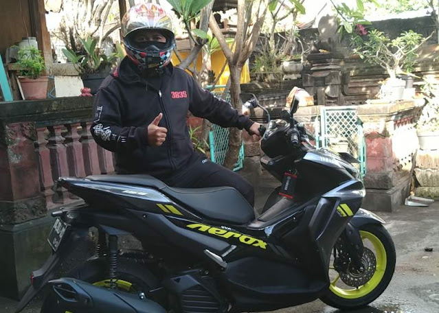 Test Ride All New AEROX 155 Connected