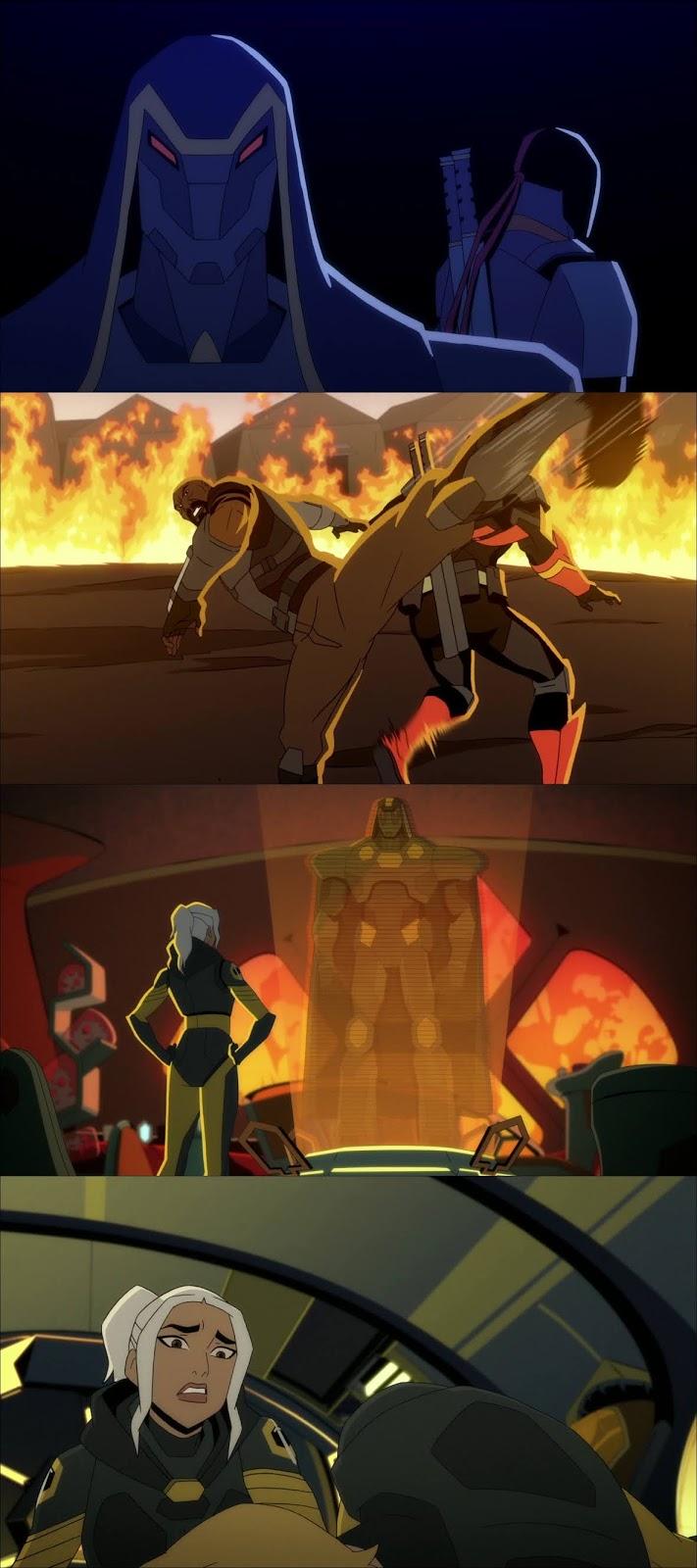 Deathstroke Caballeros y Dragones HD 720p Latino (2020)