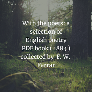 a selection of English poetry