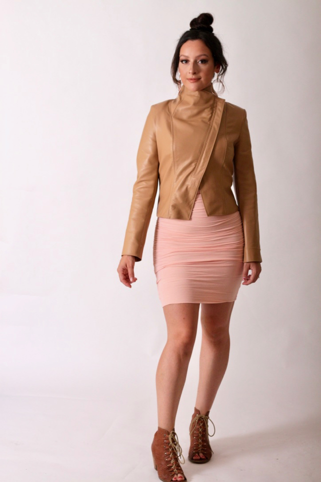 Julia Bobbin - Style Arc Leather Jacket