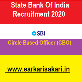 State Bank Of India (SBI) has released a recruitment notification for 3850 posts of Circle Based Officer (CBO). Interested candidates may check the vacancy details and apply online from 27/07/2020 to 16/08/2020.