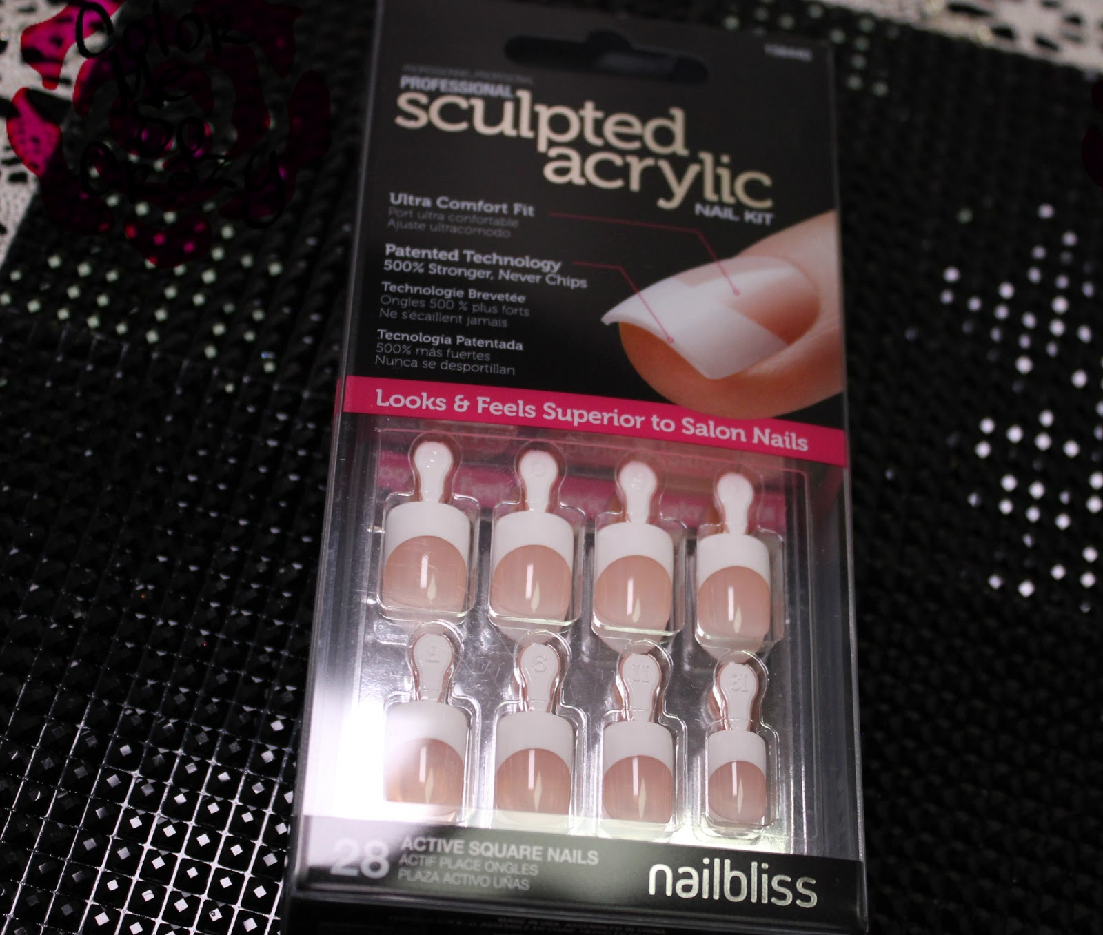 Nail Bliss Sculpted Acrylic Nail Kit