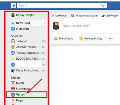 Edit Facebook Group Name